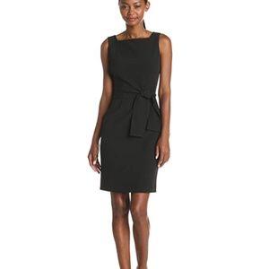 NWOT ANNE KLEIN Black Square neckline Dress